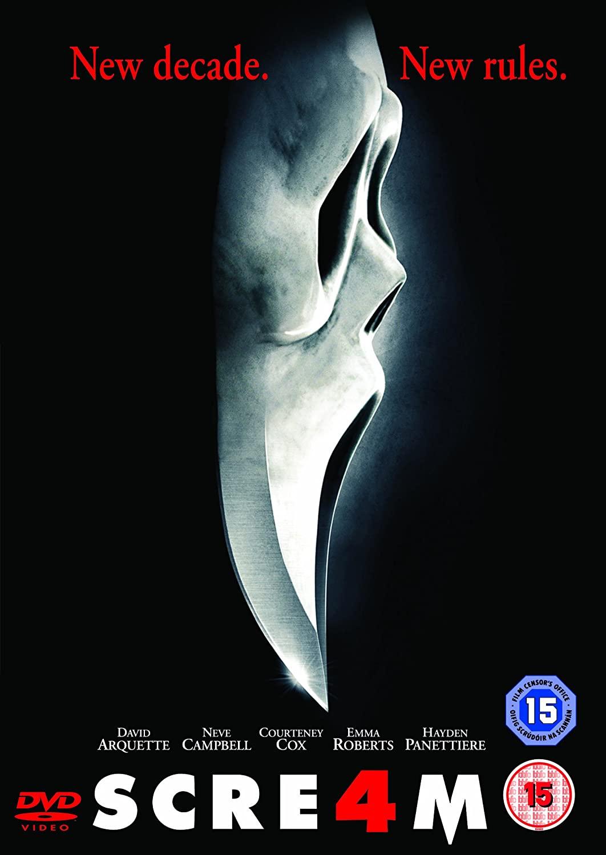 'Scream 4' 2011 poster