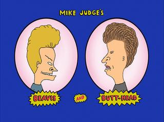 Beavis and Butt-head titlecard