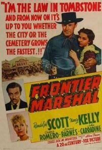 Frontier Marshal FilmPoster