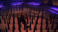 Shang Tsung's death