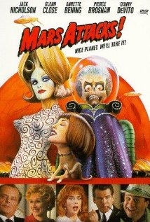 Mars Attacks 1996 Poster