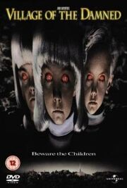 Village of The Damned 1995 poster
