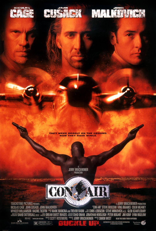 Con Air 1997 poster