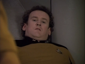 Colm Meany dead in Star Trek-The Next Generation-The Mind's Eye