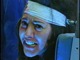 Kiren David just before her death in 'Hell's Highway'