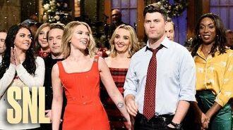Scarlett Johansson Holiday Monologue - SNL