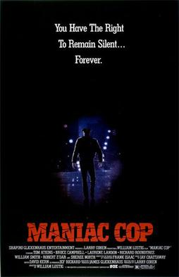 Maniac Cop Movie Poster