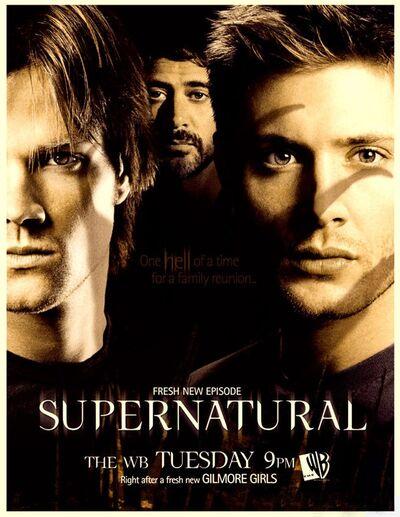 Supernatural 2005 93 poster