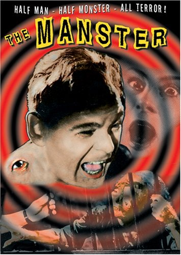 The Manster 1959 poster