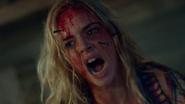 Samara Weaving in Ash vs Evil Dead- The Dark One