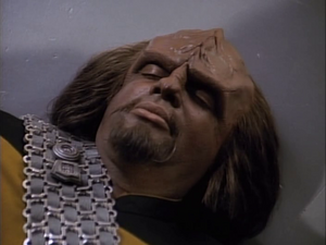 Michael Dorn dead in 'Star Trek-The Next Generation-Transfigurations'