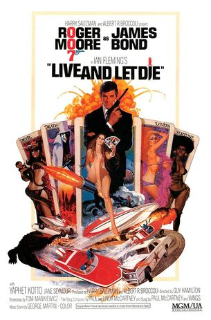 Live and let die poster4