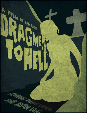 Drag me to hell vector poster by samraw08-d39jfim