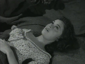 Maggie Pierce at the moment of her death in 'Wagon Train - The Elizabeth McQueeny Story'