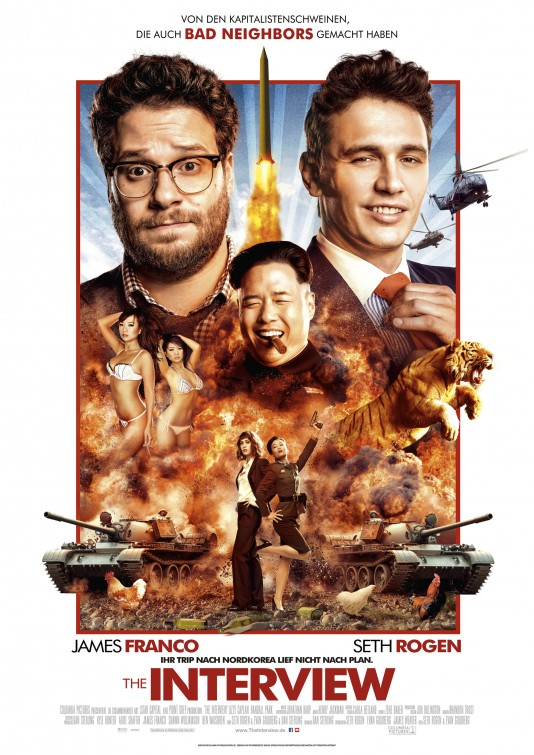 The Interview (2014) | Cinemorgue Wiki | Fandom