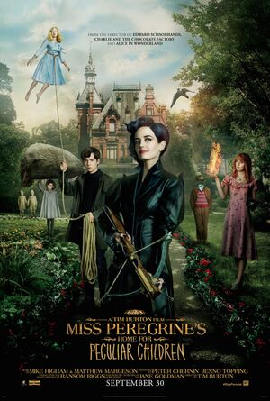 Miss peregrines home for peculiar children xlg