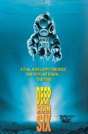 DeepStar Six 1989 Poster