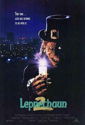 Leprechaun two poster