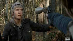 Tanner Holland in 'The Walking Dead- Welcome to the Tombs'