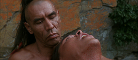Eric Schweig's death in 'Last of the Mohicans' (2)