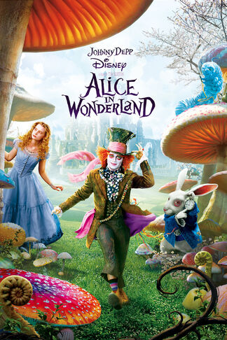 Alice In Wonderland (2010) cover