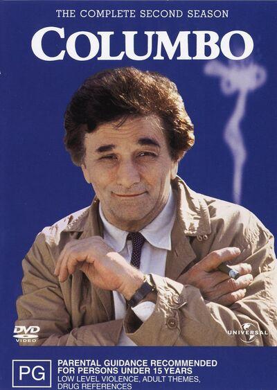 Columbo Season 2 R4--cdcovers cc--front