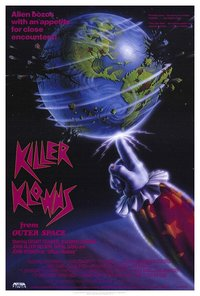 Killer Klowns from Outer Space (1988) poster