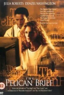 The Pelican Brief 1993 poster