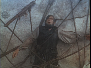 Gregory Peck dead in Moby Dick