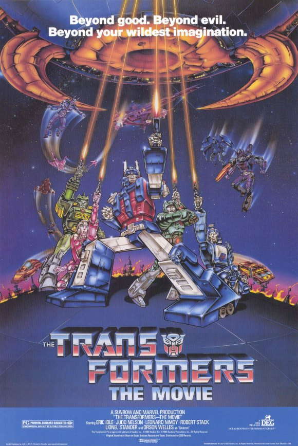 transformers the full movie 1986