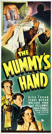 The Mummy's Hand Insert