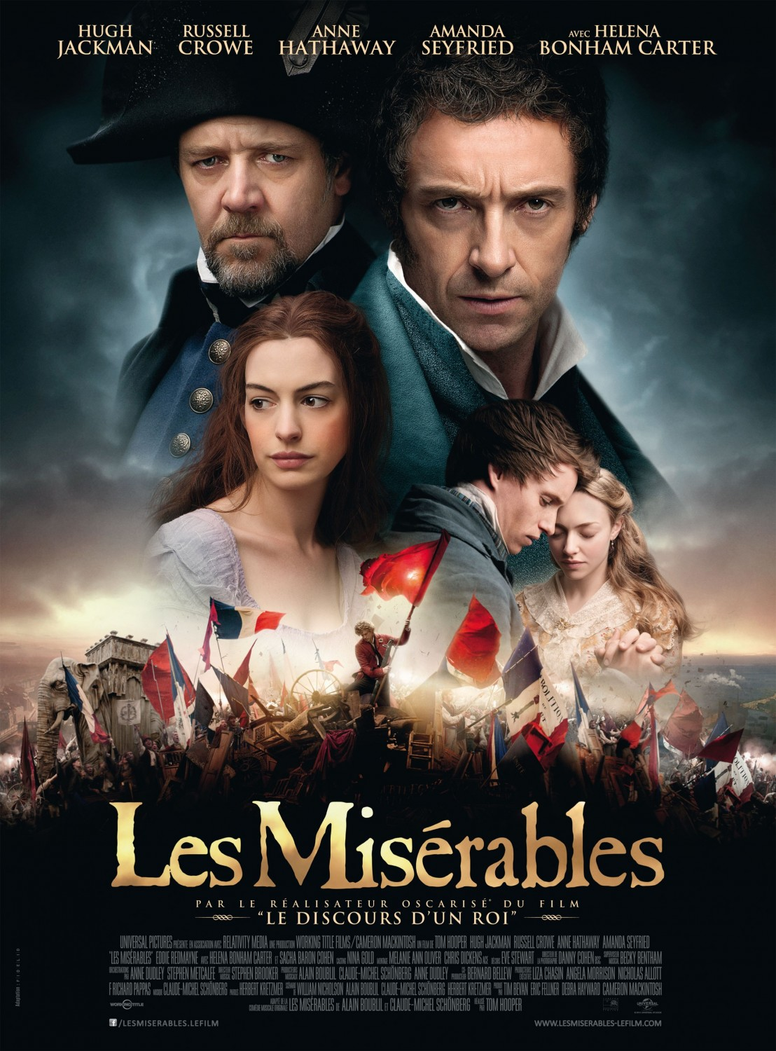 les miserables movie summary