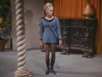 Virginia Aldridge shortly before her death in Star Trek-Wolf in the Fold