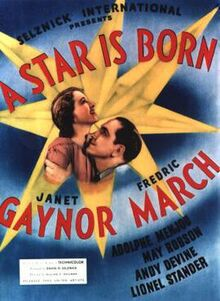 A Star Is Born 1937 poster