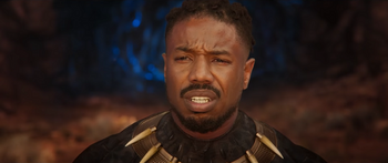 Killmonger's death