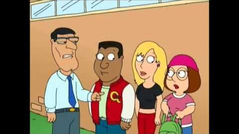 Mila dying in Family Guy Jungle Love (2005)