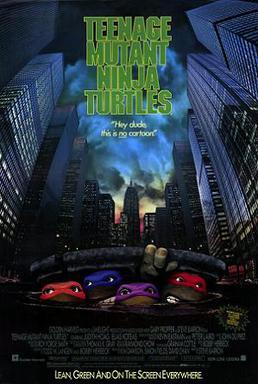 Teenage Mutant Ninja Turtles (1990 film) poster