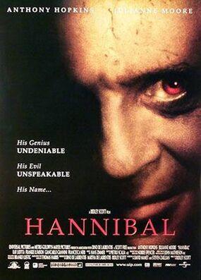 Hannibal 2001 poster