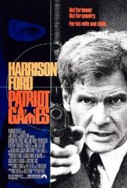 Patriot Games 1992 Poster