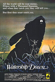 Movie poster watership down-1-