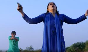 Gurdeep Kohli shot in Diya Aur Baati Hum