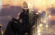 Cloud and Kadaj