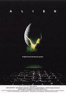 Theatrical release poster for Alien