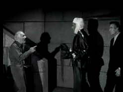 Wolfe Barzell just before his death in Frankenstein's Daughter