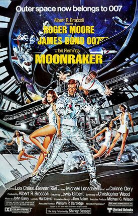 Moonraker-poster