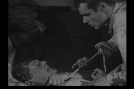 Robert Osterloh with Dean Stockwell shortly before his death in Wagon Train-The Jaun Ortega Story
