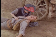 Tim McIntire dead with Joan Blondell in 'Wagon Train-The Bleecker Story'