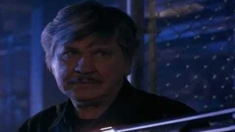 """Michael Parks' death in """"Death Wish V The Face of Death"""""""