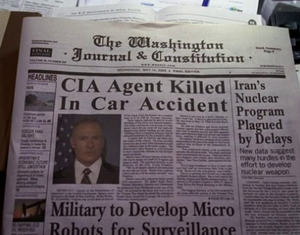 Ray Baker's obituary in Criminal Minds-Secrets and Lies