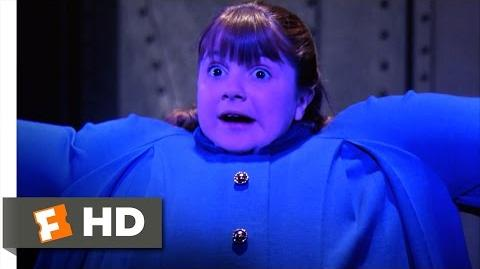 Willy Wonka & the Chocolate Factory - Violet Blows Up Like a Blueberry Scene (7 10) Movieclips